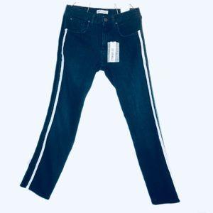 🧡 NWT Zara Jeans with Velvet Stripes 🧡